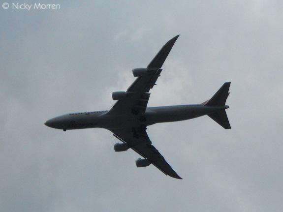 Vliegtuig in Sittard