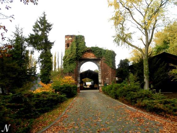 Ruine kasteel Nijenborgh, Weert, Nederland