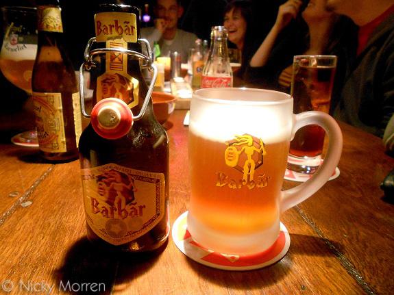 Barbar blond bier