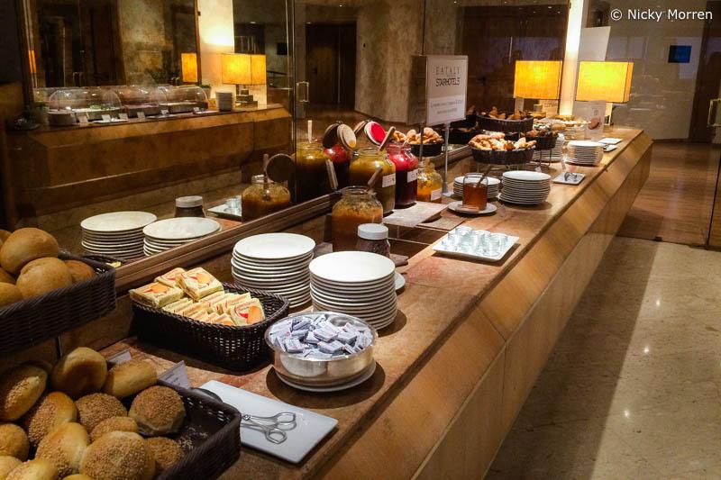 Starhotels President Genoa ontbijt